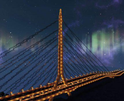 夜半舞者靜謐時 環狀線-夜舞大橋